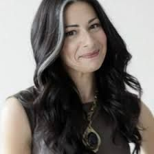 Image result for Dark brown hair with silver streaks