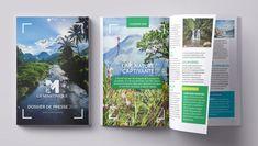 Dossier de presse martinique 2018 Print Ideas, Brochures, Magazines, Communication, Editorial, Menu, Articles, Graphic Design, Cover