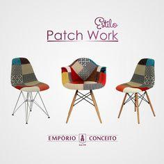 Estilo Pacth Work #conceito #design