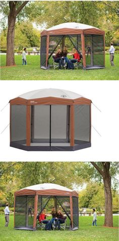 Canopies and Shelters 179011 Coleman 12 X 10 Instant Screened Canopy Screen House C&ing Tent Shelter Shade -u003e BUY IT NOW ONLY $219.01 on eBay! & Canopies and Shelters 179011: Coleman 12 X 10 Instant Screened ...