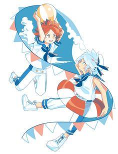 Inazuma Eleven Go, Boy Art, Emoji, Princess Zelda, Kawaii, Fictional Characters, Spectrum, Ship, Twitter