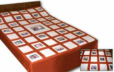 Photo Quilt Cover - personalised quilt - Rs.5100 : Gifts to India