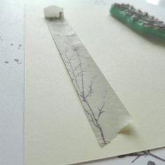 Twig and DIY washi