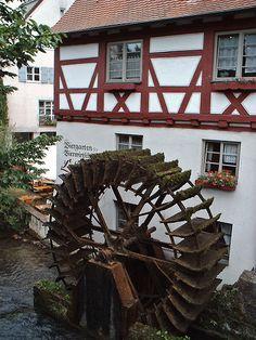 Water mill, Ulm