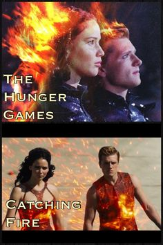 The hunger games and catching fire tribute parades
