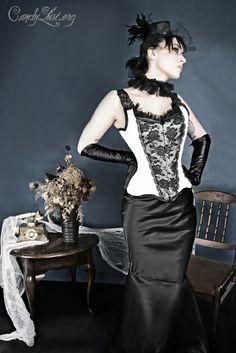 beauty, candylust.org, corset, dark, deviantart, girl