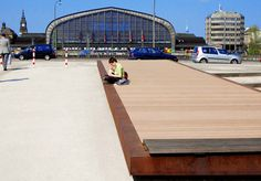 Hamburg Hühnerposten - Liegefläche mit WPC Dielen zum Entspannen und Verweilen