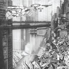 4. Sci fi invasion in metropolis city