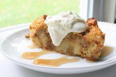 Pumpkin-Pecan Bread Pudding