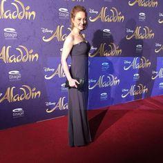 Schauspielerin Wanda Perdelwitz auf der Premiere von Disneys #Aladdin #AladdinHamburg