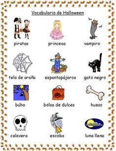 students will use this fun and festive halloween vocabulary sheet during writing my students often - Halloween Vocab Words