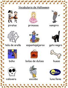 halloween words every letter alphabet