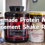 Homemade Protein Meal Replacement Shake Recipe (Video)