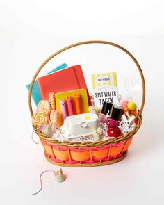 Think she's too old for an Easter basket? Think again! From bright-colored notebooks to fruity-flavored lip balms, we've rounded up gift ideas any teenager will love.