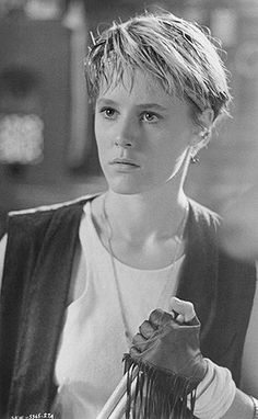 """Mary Stuart Masterson. """"Some Kind of Wonderful"""".  My favorite John Hughes film.- LOVE her hair in this"""