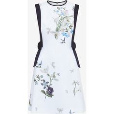Ted Baker Spring Meadow bow detail dress