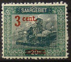 Briefmarke, Saar