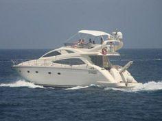 offro barca a motore Aicon Aicon 56 Fly anno 2005 lunghezza mt 17 larghezza mt 5 motore Caterpillar 2x810hp VHF Eco GPS Autopilota Plotter R...