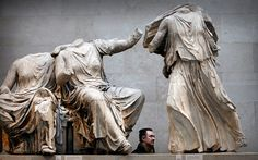 #ElginMarbles collection at the British Museum in London have now gone on  loan for the first time ever - to a Russian Museum