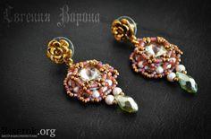 Nice earrings, with tutorial