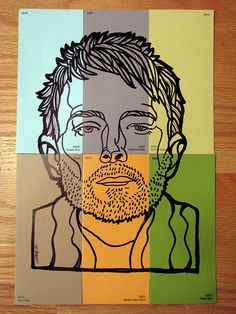 Thom Yorke on Paint Swatches by sammo371, via Flickr
