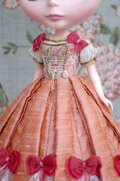 For G♥Baby ≈ Rapunzel ≈ | Flickr - Photo Sharing! Bjd, Frederique, Barbie Party, Doll Costume, Cute Dolls, Silk Chiffon, Doll Accessories, Vintage Dolls, Blythe Dolls
