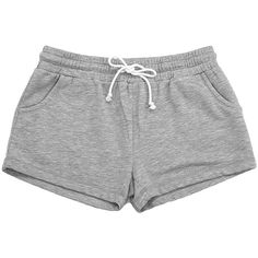B*Sport Oxford Rally Fleece Shorts ($15) ❤ liked on Polyvore featuring activewear, activewear shorts, bottoms and sports activewear