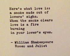 Romeo and Juliet Quote by William Shakespeare Typewritten Greeting Card - Emily Buxton - Shakespeare Romeo Und Julia, William Shakespeare Frases, Shakespeare Love Quotes, Poetry Shakespeare, Literary Love Quotes, Historical Quotes, Poem Quotes, True Quotes, Words Quotes