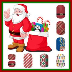 Fashionably-Festive Collection of wraps make great stocking stuffers for young girls, tweens, teens, and even moms and grandmas!!!  #nailart #newjamberry #jamberry #nails #manicure #pedicure #nailwraps. Email for more info on how to order this wrap by Jamberry - lisavandiver18@gmail.com