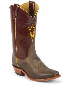 Nacona Women's University of Arizona College Boots - Snip Toe