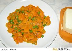 Dušená mrkev recept - TopRecepty.cz Risotto, Salsa, Fish, Vegan, Ethnic Recipes, Diet, Pisces, Salsa Music, Vegans