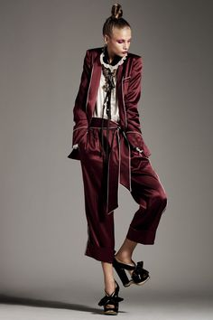 The pyjama trend spotted on the streets a few seasons ago is back and bigger than ever. Silky, smooth and chic, pyjamas here!Whether is satin, wide-leg pants and shirts, silk robes or sexy slip dre…