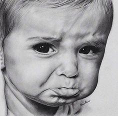 Рисунок простым карандашом. Автор сумел увидеть и передать самые искренние эмоции
