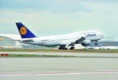 Boeing 747-8 Lufthansa Frankfurt