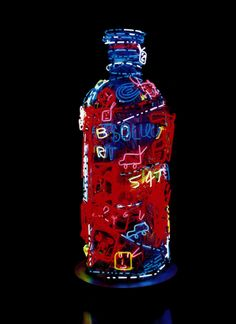 """Limited Edition """"Absolut Paik"""" by video artist Nam June Paik for the campaign in 2000 (©Nam June Paik Absolut Vodka, Nam June Paik, Print Design, Graphic Design, Video Artist, Best Ads, Ad Art, High Art, Brand Packaging"""