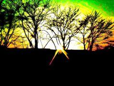 Sunny is saying goodbye (~o~) — #sunset #nature #andrography #photography #streamzoo • MyajaTani on Streamzoo