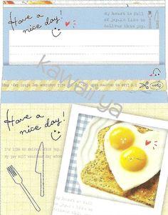 Kamio Japan *Nice Day* Letter Set