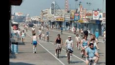 I rode my bike on the boardwalk every morning before work. Wildwood Boardwalk, Wildwood Beach, North Wildwood, Wildwood Crest, Boardwalk Theme, Jersey Girl, New Jersey, Beautiful Places In Usa, Nj Beaches