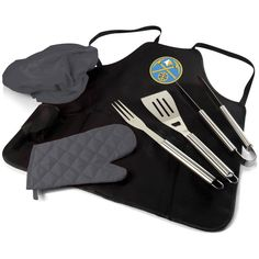 NBA BBQ Apron Tote Pro with Tools - 635-88-179-074-4, Picnic Time