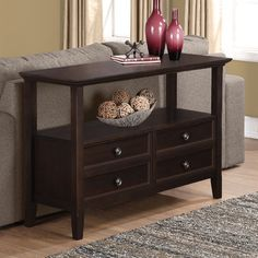 FREE SHIPPING! Shop Wayfair for Simpli Home Amherst Console Table - Great Deals on all Furniture products with the best selection to choose from!
