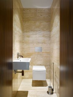 Upgrade Your House With Modern & Minimalist Bathroom Design Ideas That Will Impress Your Guest – Marble Bathroom Dreams Small Toilet Design, Modern Bathroom Design, Bathroom Interior Design, Bathroom Styling, Minimalist Toilets, Minimalist Bathroom Design, Pinterest Bathroom, Grey Marble Bathroom, Marble Wall