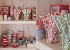 Straws! via RosaRot