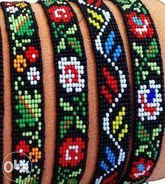loom beading tutorial - My Recommendations Loom Bracelet Patterns, Beaded Earrings Patterns, Seed Bead Patterns, Bead Loom Bracelets, Jewelry Patterns, Beading Patterns, Seed Bead Projects, Motifs Perler, Beadwork Designs