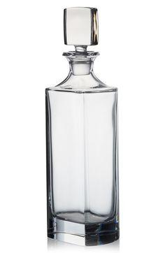 Rogaska Crystal 'Manhattan' Vodka Decanter