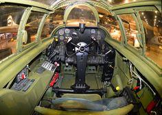 Northrop P-61C Black Widow cockpit. Photo Credit: www.nationalmuseum.af.mil