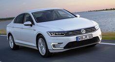 Volkswagen Passat GTE Hybrid at the Auto Expo 2016