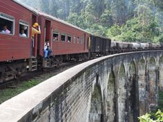 Train Sri Lanka Ella - Kandy : Nine Arches