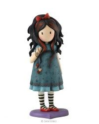 "Pulling On Your Heart Strings, Gorjuss 6"" Figurine"