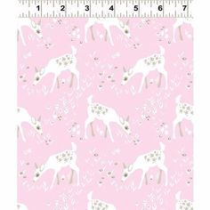 Pink Deer by Betsy Olmsted for Clothworks Fabrics Organic Cotton Organic Woodland Fabric Deer Fabric Animal Fabric Pink Woodland Fabric by Owlanddrum on Etsy Deer Fabric, Woodland Fabric, Baby Fabric, Pink Fabric, Woodland Baby, Pink Quilts, Cotton Quilts, Fat Quarter Quilt, Fabric Animals