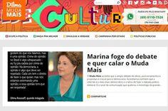 TSE determina retirada do ar de site com propaganda de Dilma Rousseff .  Pedido foi feito pela campanha de Marina Silva, ainda cabe recurso à decisão por Redação — publicado 16/09/2014 19:57, última modificação 16/09/2014 20:09 . http://www.cartacapital.com.br/politica/tse-determina-retirada-do-ar-de-site-com-propaganda-de-dilma-rousseff-4899.html